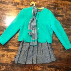 Carroll Reed Wool Sweater Jacket